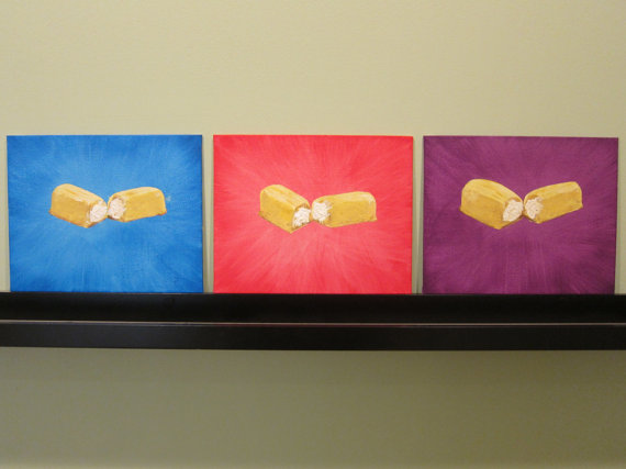 Twinkie Trilogy Paintings