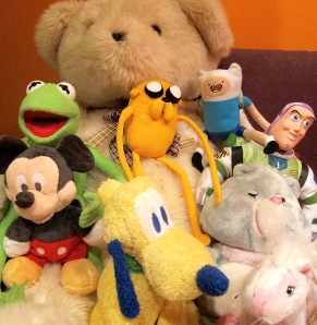 Stuffed animals galore
