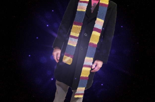 Finished Dr. Who Scarf