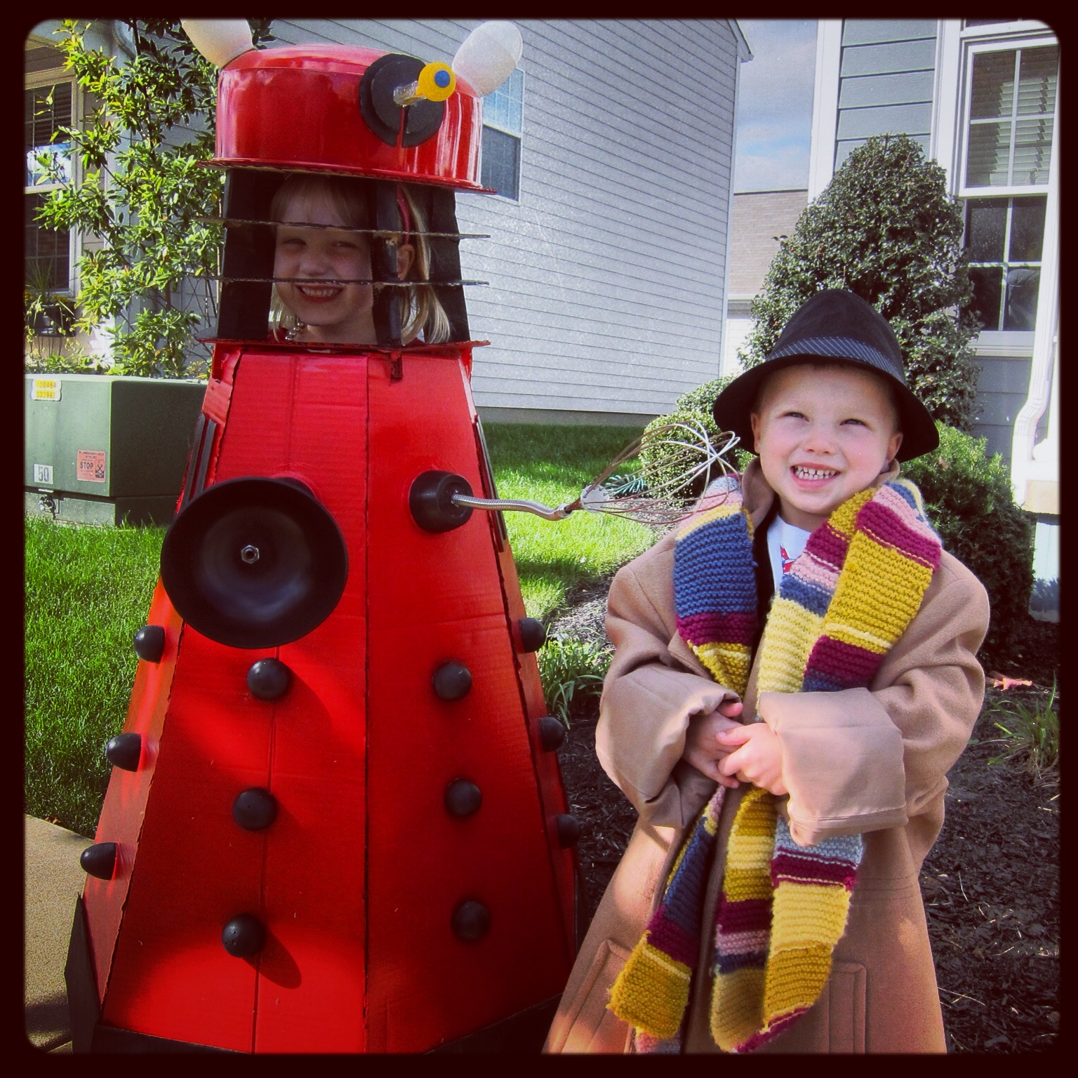 homemade doctor who and dalek costumes | secret dad society