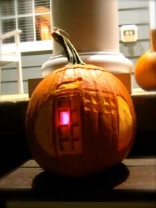 Tardis Pumpkin