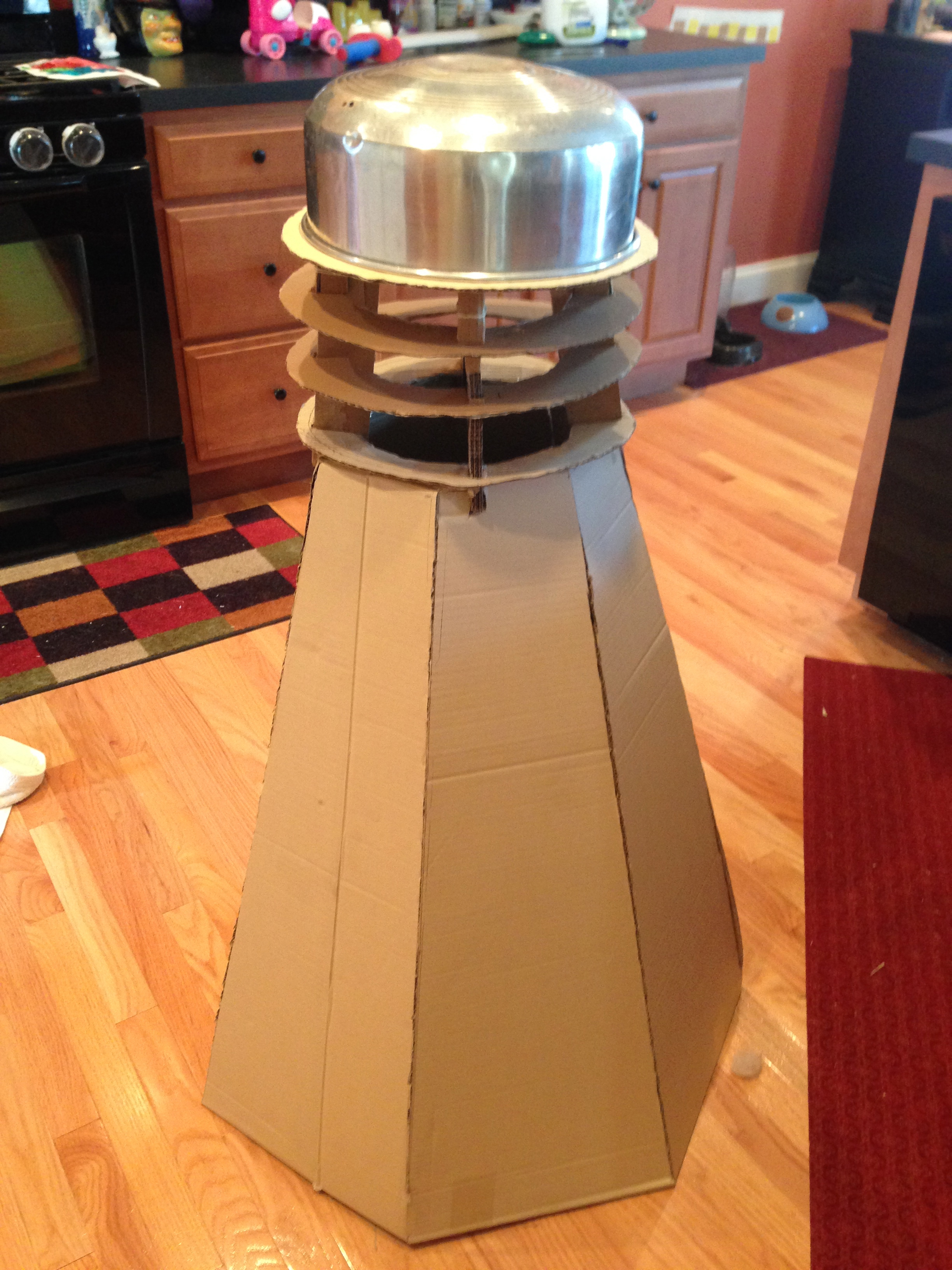 Make A Cardboard 3d Model Of Your Area Using Local: Homemade Doctor Who And Dalek Costumes