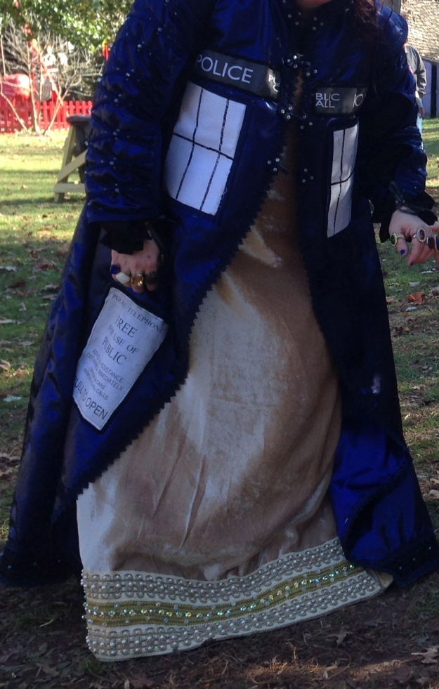 In 900 years of time and space, I've never met a renaissance TARDIS dress!