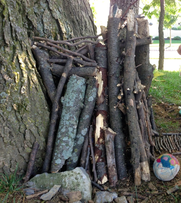 fairy house side