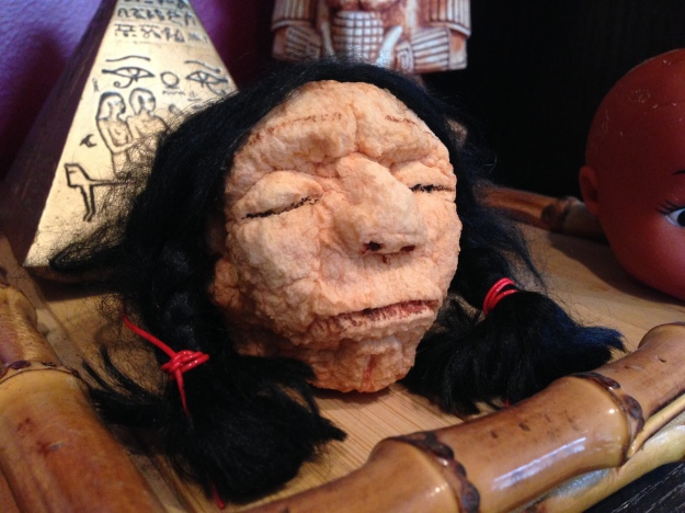 Shrunken Head project from Mad Professor